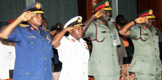 Reps probing alleged stolen arms funds under former service chiefs