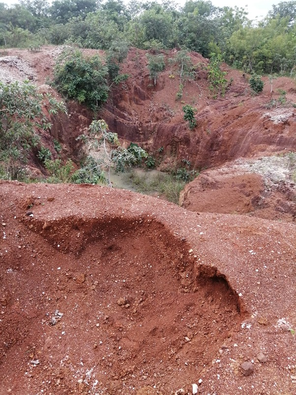 Activities of illegal miners