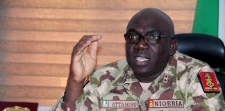 army chief calls for more funding