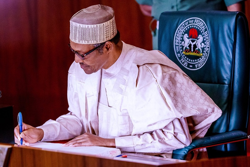 President Buhari request for a 2022 budget increase