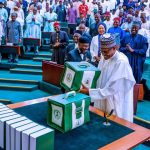 Lawmakers react to Buhari's N16.39 trillion budget presentation at NASS